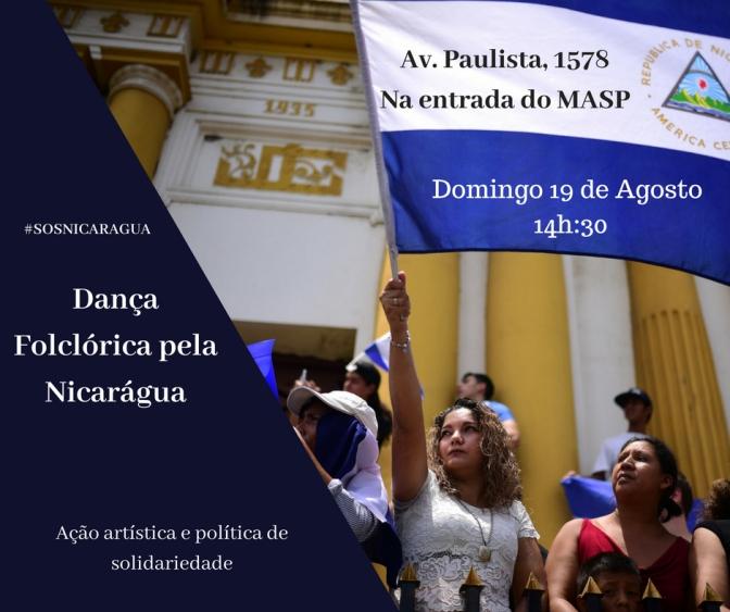 Dança Folclórica pela Nicarágia
