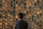 Artist builds memorial to the 448 killed in Nicaragua's civil strife