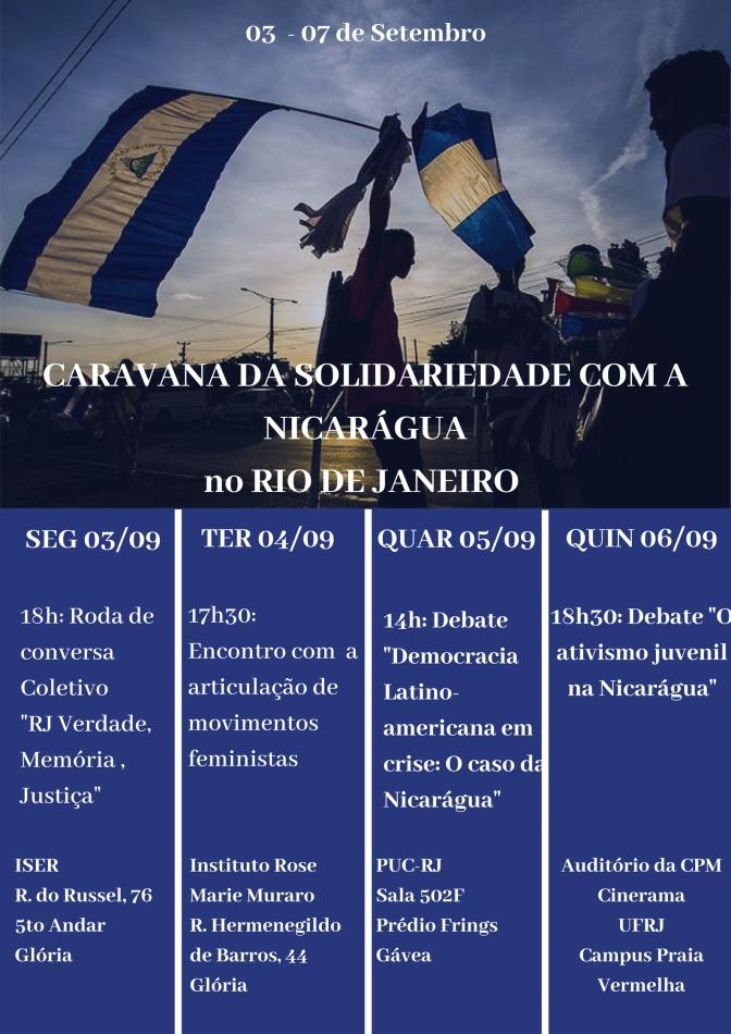 CARAVANA DA SOLIDARIEDADE RIO